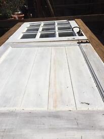 Hardwood stable door