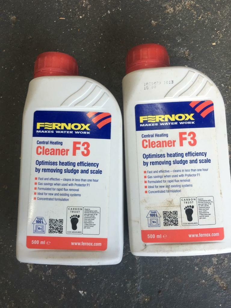 Fernox F3 central heating cleaner | in Blyth, Northumberland | Gumtree