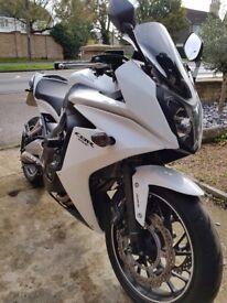 CBR650F white - 14k miles