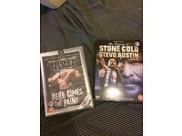 Wrestling DVDS Brock Lesnar Steve Austin