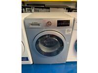 Bosch silver good looking 8kg wash & dry washing machine
