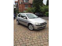 Vauxhall Corsa low mileage and mot quick sale