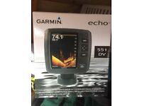 Garmon echo 551 DV fish finder