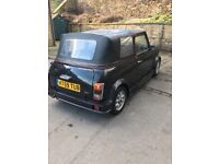 Mini thirty convertible classic h reg starts drives mot end this month clean for age