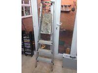 3 Step aluminium platform ladder