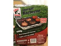 24 x instant disposable BBQ's