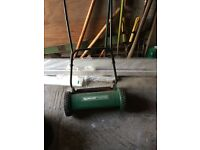 Qualcast Panther push mower with roller