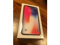 iPhone x brand new sealed on o2