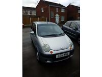 DAEWOO MATIZ SILVER GREY 2001 4 DOOR HATCHBACK - NON-RUNNER