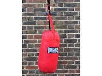 Lonsdale Punching Bag plus skipping rope