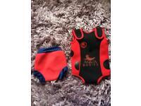 Aqua babies swimsuit