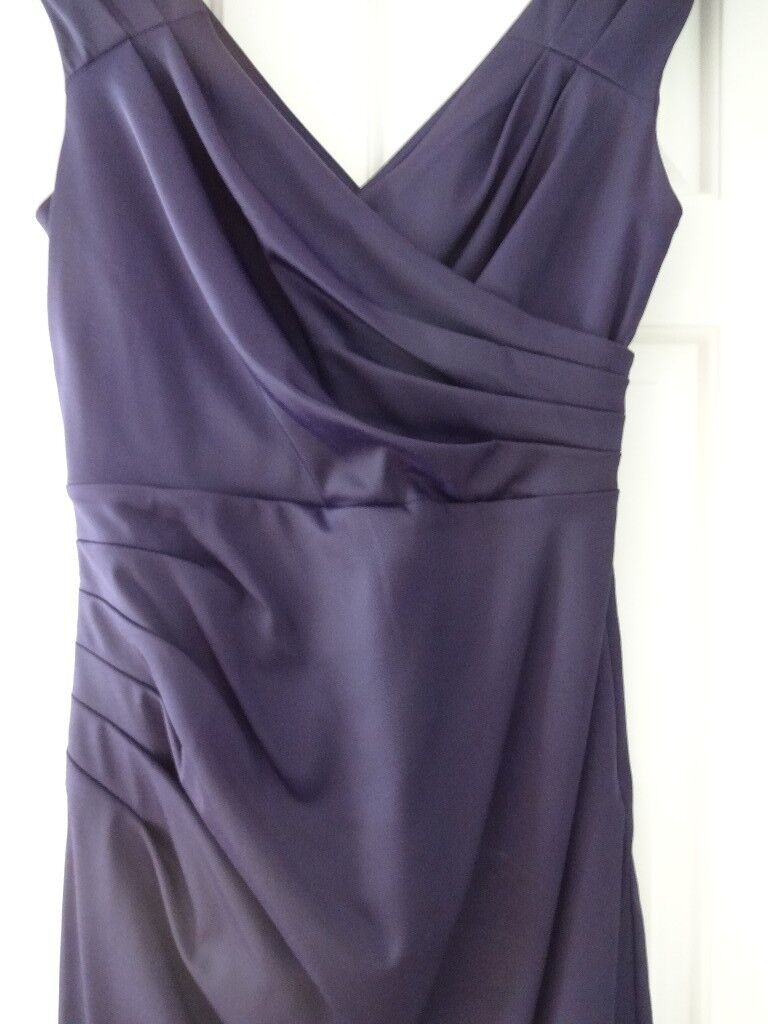 Phase 8 - size 12 - Quality street purple , ideal prom or bridesmaid ...