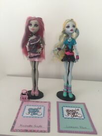 Monster High Ghouls Night Out Lagoona Blue and Rochelle Goyle