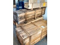 Wooden Pallets and Crates, Metal Barrels.