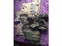 Job lot of army items