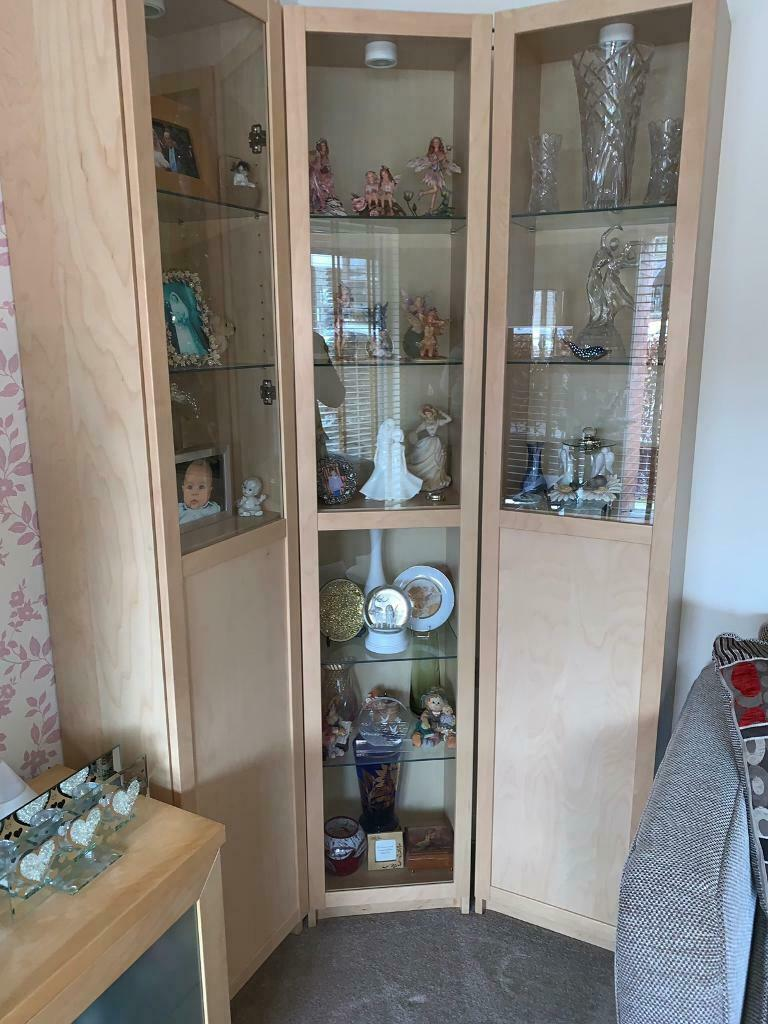 Groovy Ikea Display Cabinets X3 In Gorbals Glasgow Gumtree Home Interior And Landscaping Eliaenasavecom