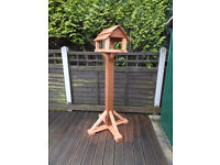Hand Made Bird Tables - Treated - great gift for elderly relatives