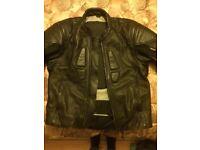 Schoeller leather/keprotec Motorcycle Jacket