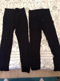 H&M pregnancy black jeans