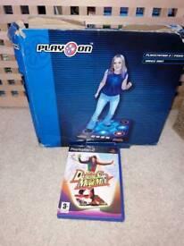 PS2 DANCING MEGA MIX AND DANCE MAT