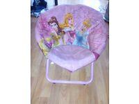 Disney Princess Childs Foldaway Chair