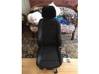 BMW 1 series M sport half leather seat