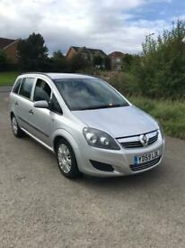 image for 2010 VAUXHALL ZAFIRA 1.6 7 SEATER