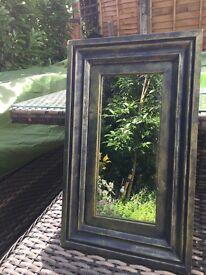 Beautiful Verdigris Mirror