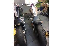 Ajs dd 125 e-5 2008 , chopper , bobber , motorcycle, 125cc