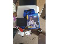 Cheap!!!! PS4 for sale .... £90 ono comes with FIFA 18 and one dualshock controller ...