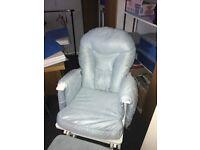 Nursery Glider chair & stool