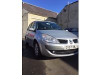 RENAULT SCENIC 1.6 FOR SALE - £1795 AND LOW MILES!!!