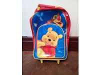 Childs Winnie The Pooh Pull-Along Case