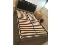 Double bed frame for collection open to offers