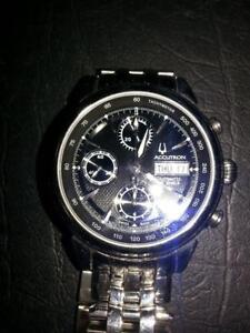 BULOVA Watch Accutron Chronograph (34702). We sell used Watches and jewelry.