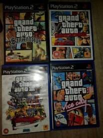 Bundle grand theft auto.ps2 games