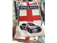 England Magnetic Signs / cars vans ect