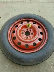 Spare car tyre 125/90/15 (no 3)