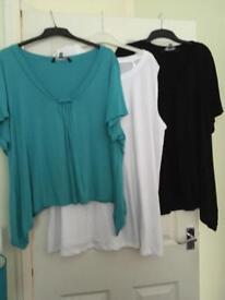 Various tops