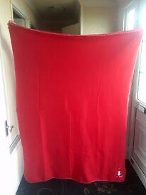 Christmas themed blanket throw