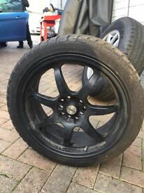 "17"" alloy whwels multi fit ones"