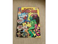 SUPER SPIDER-MAN Comic - No 294 - 1978 - Marvel Comic UK - Bronze Age