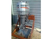 Mariner 135 HP V6 Outboard Engine, with all controls,