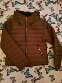 Woman's XL Karki Quilted Jacket/Coat