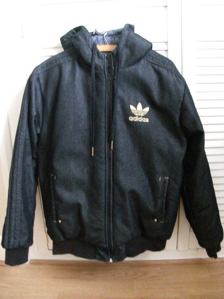 Men's Adidas Reversible Winter Jacket, Size Medium, Great Condition