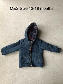Boys coats and gilets (available separately)