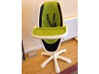 Mamas and papas highchair fr up to 3 years old £50