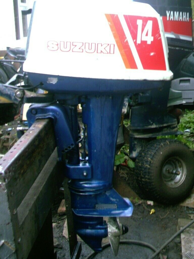 SUZUKI 14HP STANDARD SHAFT WITH TILLER SERVICED | in Washington, Tyne and  Wear | Gumtree