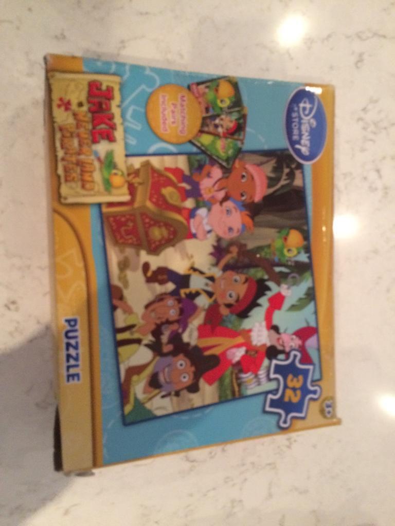2 Disney jigsaws