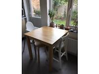 Ikea small dining dinner kitchen table
